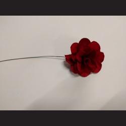 Dřevěný květ červený