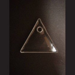 Sklíčko na dotvoření ve tvaru rovnostranného trojúhelníku
