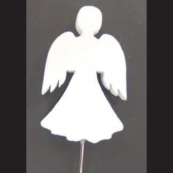 Anděl bílý zápich