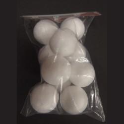 Polystyrenová koule, 2,5 cm, 10 ks