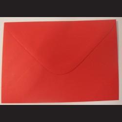 Balení obálek 10 ks - červené, C5