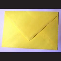Balení obálek 10 ks - žluté, C5