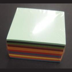 Sada origami papírů barevne