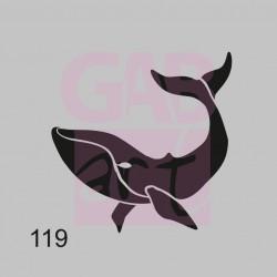 Šablona - velryba, 119