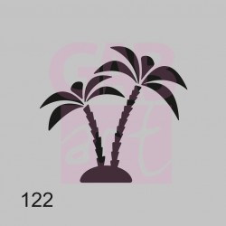 Šablona - palmy, 122