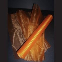 Organza sytě oranžová