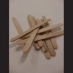 Dřevěné špachtle- 1 x 11,5 cm, 200 ks