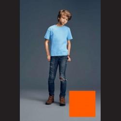 Tričko dětské oranžové, L - 11/12 let (vel. 140)