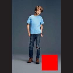 Tričko dětské červené, L - 11/12 let (vel. 140)