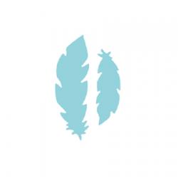 Raznice - peří, 7,6 cm