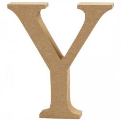 Dřevěné písmeno - Y