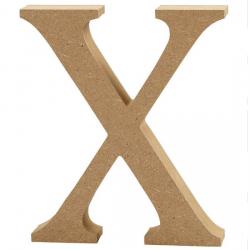 Dřevěné písmeno - X