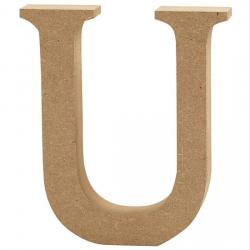 Dřevěné písmeno - U