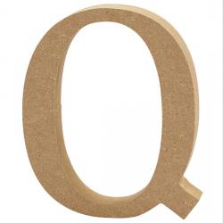 Dřevěné písmeno - Q