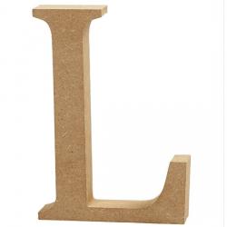 Dřevěné písmeno - L