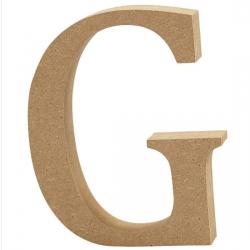 Dřevěné písmeno - G