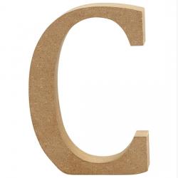 Dřevěné písmeno - C