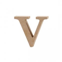 Dřevěné písmeno - v