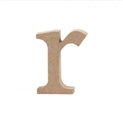 Dřevěné písmeno - r