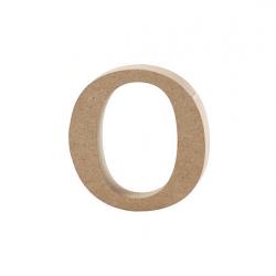 Dřevěné písmeno - o