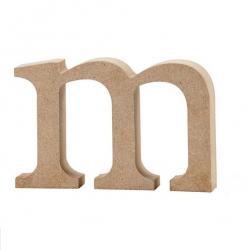 Dřevěné písmeno - m