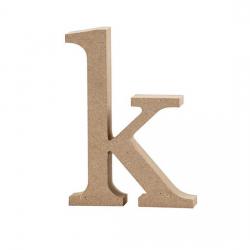 Dřevěné písmeno - k