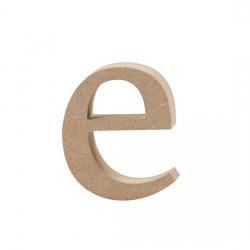 Dřevěné písmeno - e