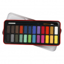 Akvarelové barvy Colortime, 24 barev