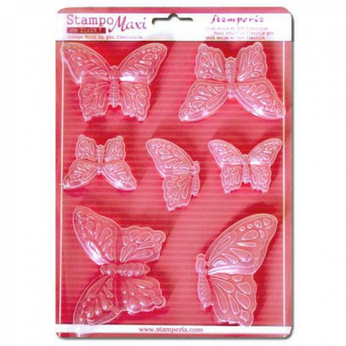 Forma na odlévání, motýli