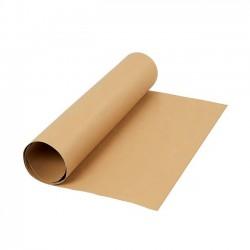 Kožený papír, 50x100 cm - světle hnědý