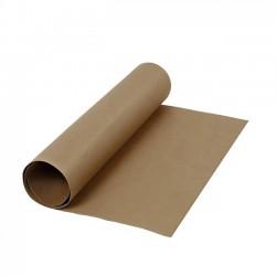 Kožený papír, 50x100 cm - tmavě hnědý