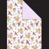 Papír A4, 300 g - kolibřík /  květy
