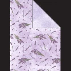 Papír A4, 300 g - levandule / fialová