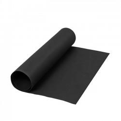 Kožený papír, 50x100 cm - černý