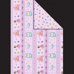 Papír A4, 300 g - Popelka růžová / korunka