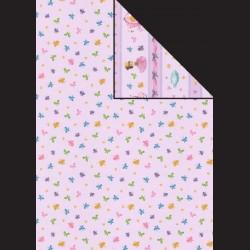Papír A4, 300 g - korunka / Popelka růžová