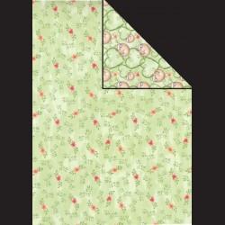 Papír A4, 300 g - květy / lenochod