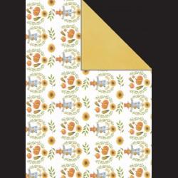 Papír A4, 300 g - strašák / žlutá