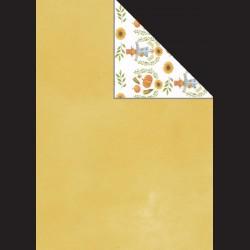 Papír A4, 300 g - žlutá/strašák