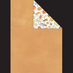Papír A4, 300 g - oranžová / podzim v lese