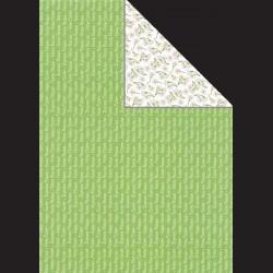 Papír A4, 300 g - nápisy / kytičky
