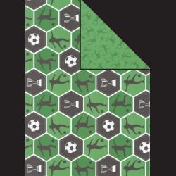 Papír A4, 300 g - fotbalisté oboustranní