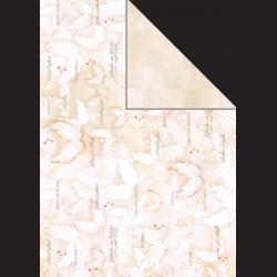 Papír A4, 300 g - andělská křídla / kostka