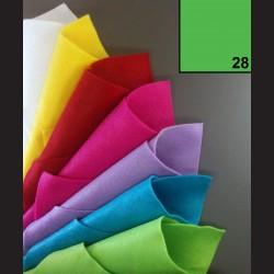 Filc A4 - světle zelený
