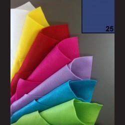 Filc A4 - středně modrý