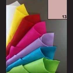 Filc A4 - růžový
