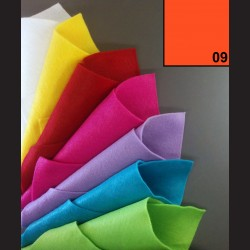 Filc A4 - oranžová jasná