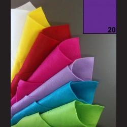 Filc A4 - tmavě fialový
