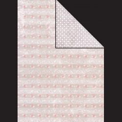 Papír A4, 300 g - květiny / květinový vzor