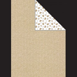 Papír A4, 300 g - nápisy / srdíčka